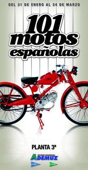 101 Motos españolas en el Corte Inglés Ademuz de Valencia