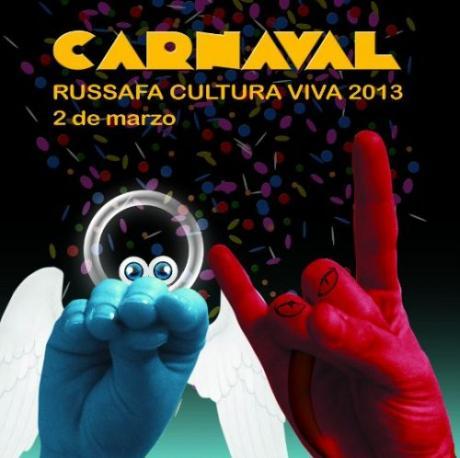 III Carnaval Multicultural en el barrio de Ruzafa de Valencia