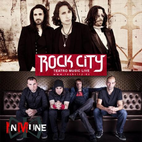 Doce Lamentos + Inmune en Rock City