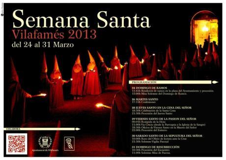 Semana Santa. Vilafamés 2013.