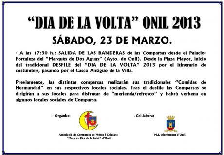 """""""Dia de la Volta"""" en Onil 2013"""