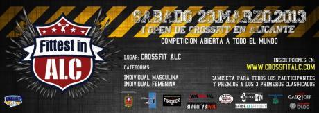 Fittest in Alc. Primer Open Nacional de CrossFit.