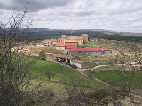 Rogativa a la ermita de Santa Lucía de Castellfort.