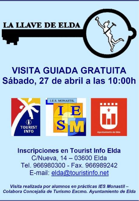 """Visita guiada gratuita """"La Llave de Elda"""""""