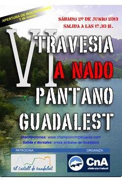 VI Travesia a nado pantano de Guadalest