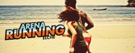 Über 5 km durch den Sand am Strand Playa Arenales del Sol in Elche laufen