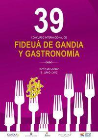 Gandia acull el 39é Concurs Internacional de Fideuà