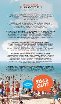 Arranca el Arenal Sound 2013