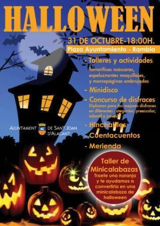 Halloween en Sant Joan d'Alacant 2013
