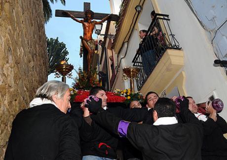 """Vía Crucis extraordinario del Cristo de la Fe """"El Gitano"""" en Alicante"""