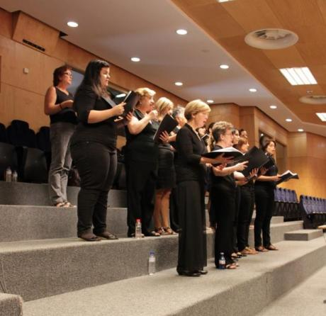 Concert of the University Choir of Alicante. Benissa