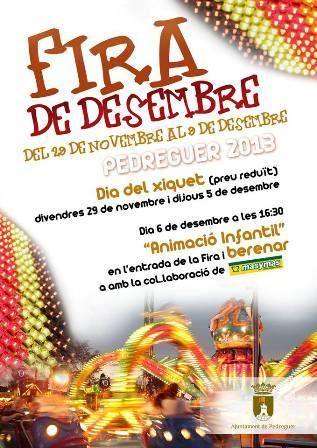 Fira de Desembre en Pedreguer 2013