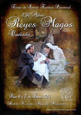 Auto Sacramental Reyes Magos de Cañada 2014