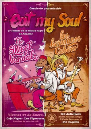 Concierto presentación Eat my Soul. 5ª Semana de la Música Negra en Alicante.