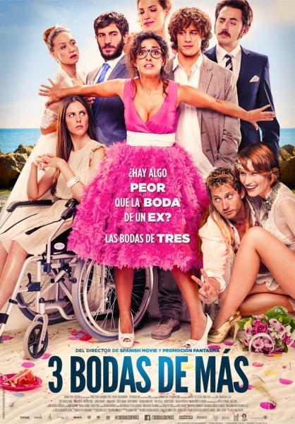 "Cine municipal Benissa: ""3 bodas de más"""