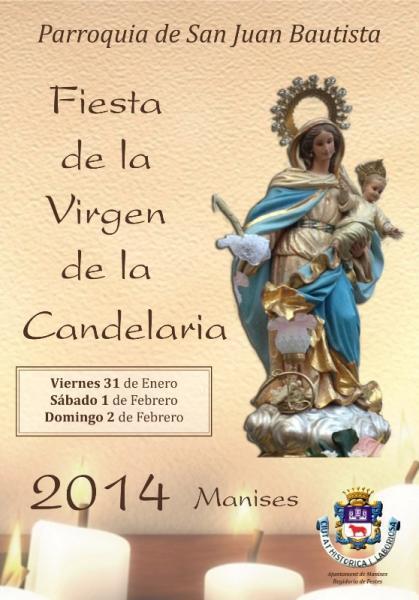 Fiesta de la Virgen de la Candelaria 2014 en Manises