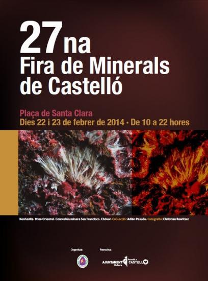 Feria de minerales de Castellón