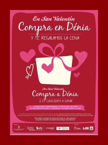 Shopping in Dénia on Saint Valentin's Day
