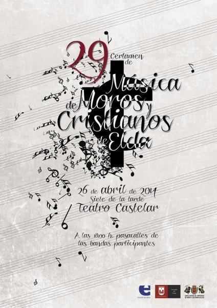 Bases del XXIX Certamen de Música de Moros y Cristianos de Elda 2014
