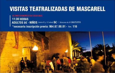 Visitas teatralizadas de Mascarell