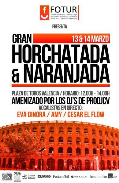 V Gran Horchatada y Naranjada  Fallera