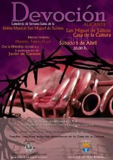 Concierto Semana Santa San Miguel de Salinas