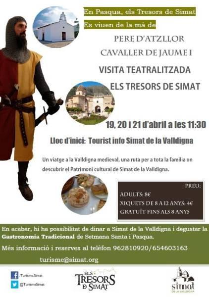 """Visita Teatralizada """"Els Tresors de Simat"""""""