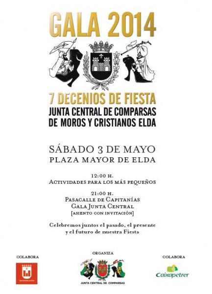 Gala Junta Central Moros y Cristianos Elda