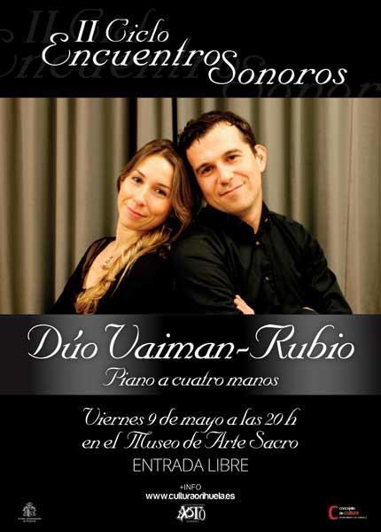 DÚO VAIMAN-RUBIO (Piano a 4 manos)