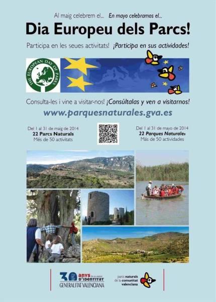 Día Europeo de los Parques Naturales 2014