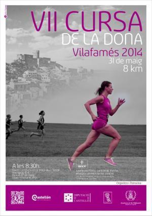 VII Cursa de la Dona. Vilafamés 2014.