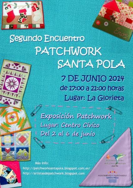 Segundo Encuentro Patchword Santa Pola