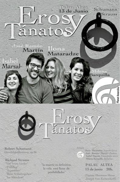 Planet Amarizku presentará el primer concierto de Eros y Tánatos en el Palau de Altea