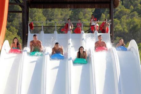 Todos al agua, Aqualandia Benidorm inaugura temporada