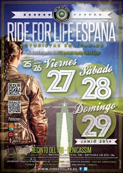Ride for Life - Motoristas solidarios