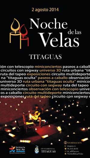 NOCHE DE LAS VELAS -TITAGUAS 2014