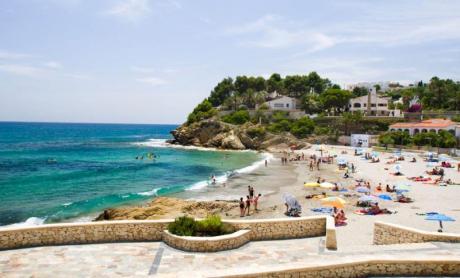 Fiestas: Playa de la Fustera - Benissa