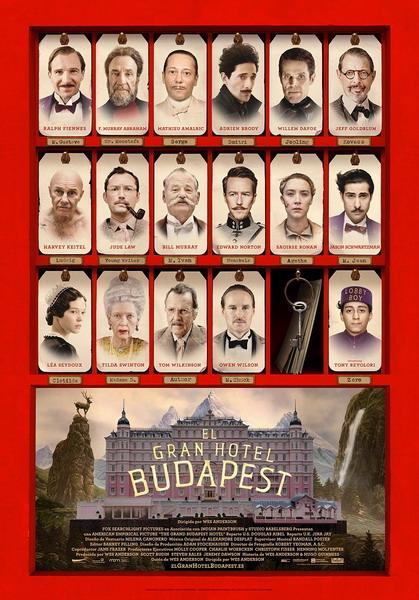 Cine: El Gran Hotel Budapest