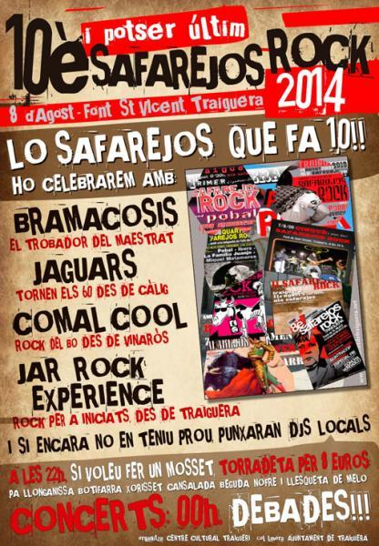 Safarejos rock en Traiguera