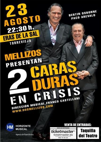 2 CARAS DURAS EN CRISIS.
