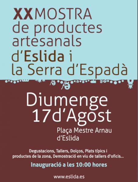 Muestra de productos e la Sierra de Espadán en Eslida