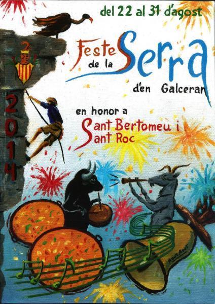 Fiestas de San Bartolomé en Sierra Engarcerán