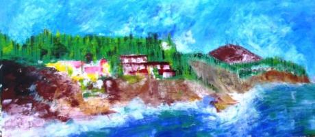 "Exhibition works ""III Encontre d'Art a la Mar"" in Benissa"