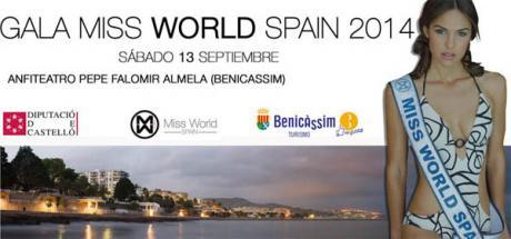 Gala Miss World Spain 2014 en Benicàssim