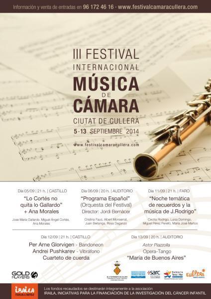 III Festival Internacional de Música de Cámara 2 014