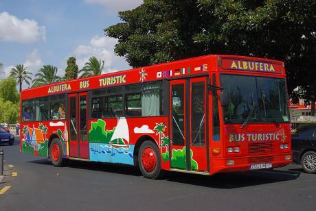 """Valencia-Día Mundial del Turismo DMT-2014-""""Se turista en tu ciudad"""" - Albufera Bus Turístic"""
