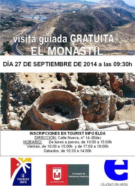 Visita guiada gratuita Yacimiento El Monastil