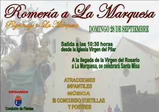 Romería a la Marquesa en Los Montesinos 2014