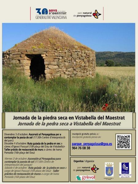 Jornada de la piedra seca en Vistabella del Maestrat