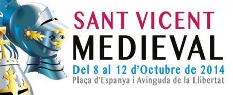 Festividad 9 de octubre y  Mercado Medieval en San Vicente del Raspeig 2014